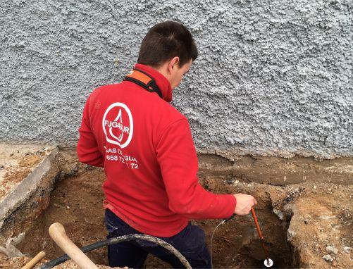 💦 Localizador Fugas de agua ☎ 658 72 72 72 ✅ Málaga, Cádiz, Sevilla, Córdoba y Granada.